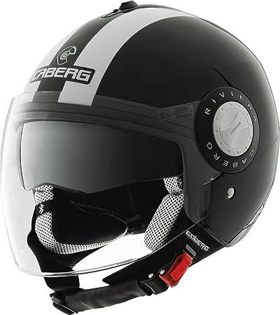 Nouveau Caberg Riviera V2 + Legend noir/blanc casque de moto
