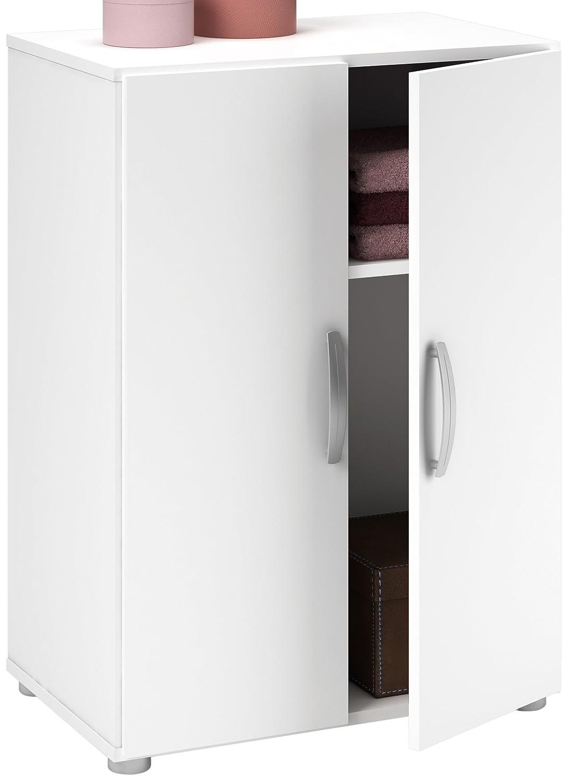 Demeyere 305545 Cobi Multifunktions-Regal, 2-türig/1 Einlegeboden Spanplatte, 58,2 x 34,6 x 81 cm jetzt kaufen