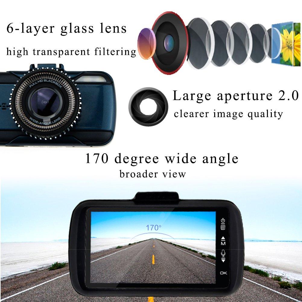 AUBBC Vehicle Camera Vision Recorder