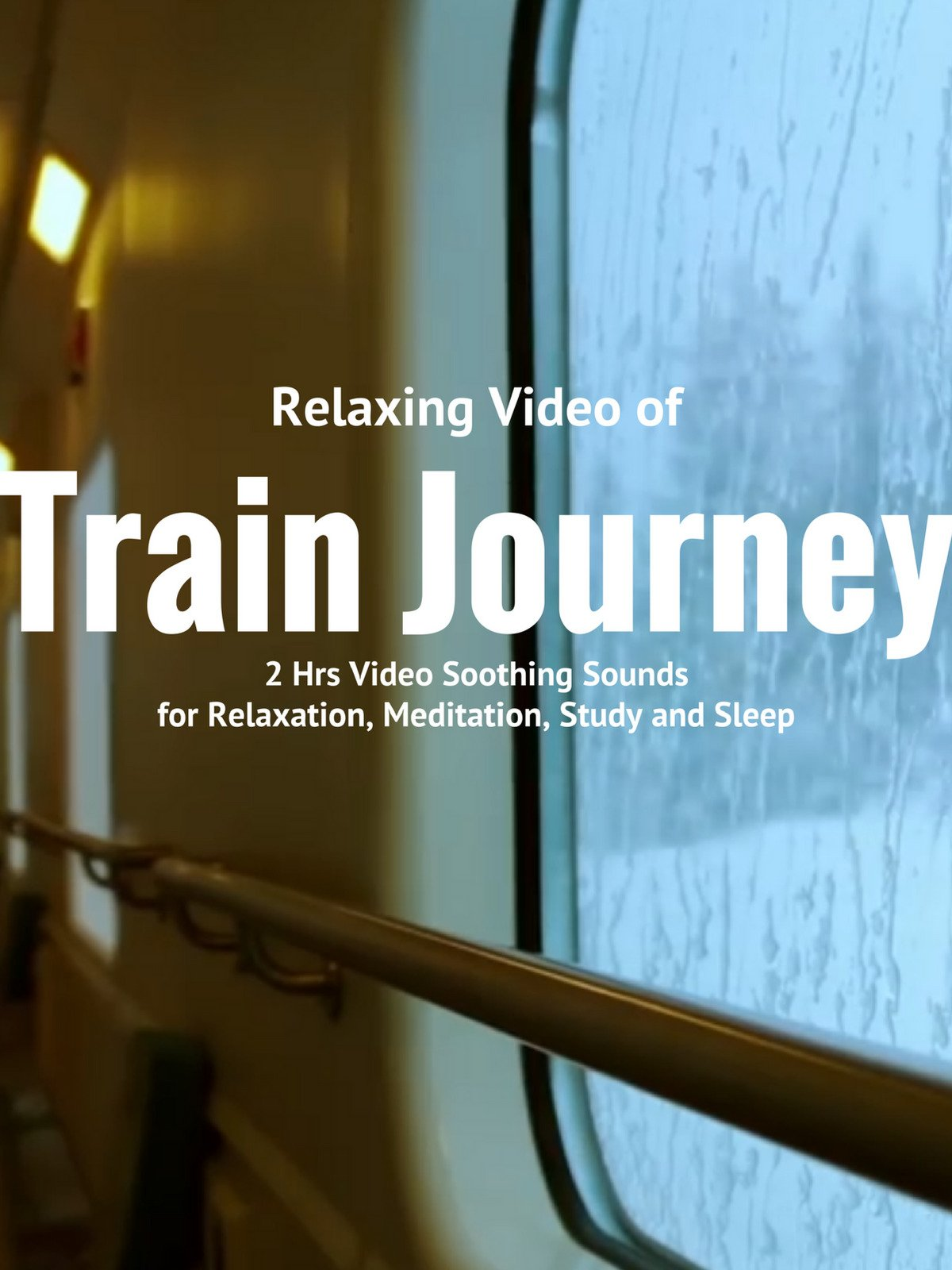 Relaxing Video of Train Journey