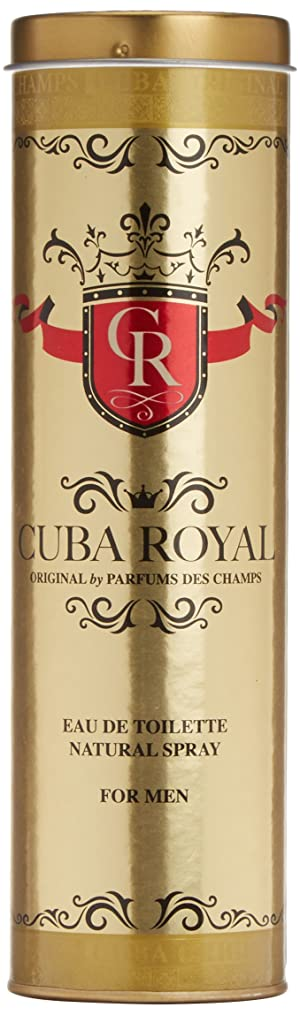 Cuba Royal by Cuba for Men Eau De Toilette Spray, 3.3 Ounce