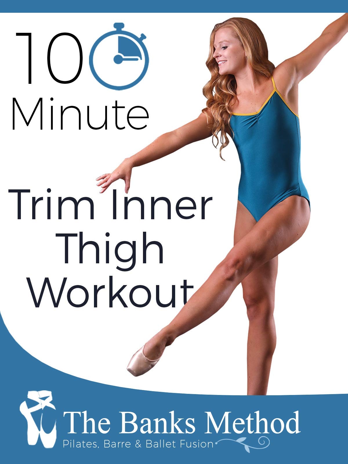 10 Minute Inner Thigh Trimming Workout | The Banks Method: Pilates, Barre, and Ballet Fusion