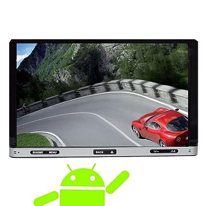 "2DIN Android 4.2 del coche DVD reproductor de CD en el tablero d'šŠcran BT 7 ""tš¢ctil capacitiva GPS Navigation Audio VidšŠo Autoradio 3G WiFi A9 Dual Core CPU de radio auto Bluetooth, pantalla para miroir tel&"
