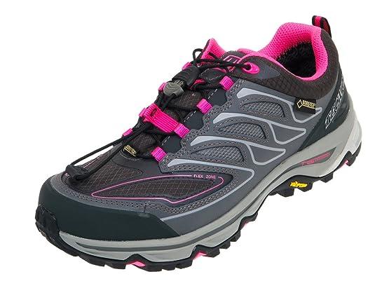 Tecnica - Scirocco ld low gtx gris - Chaussures marche randonnées