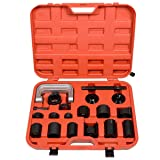 Universal 21PCS Ball Joint Repair Removal Tool Kit Remover Installer Adapter Set