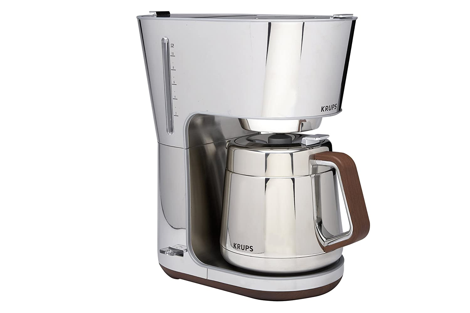 KRUPS KT600 SILVER ART COLLECTION THERMAL CARAFE COFFEE MAKER CHROME STEEL NEW!! eBay