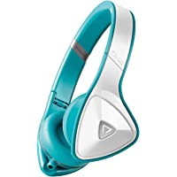 Monster DNA On-Ear 3.5mm Headphones (White/Teal)