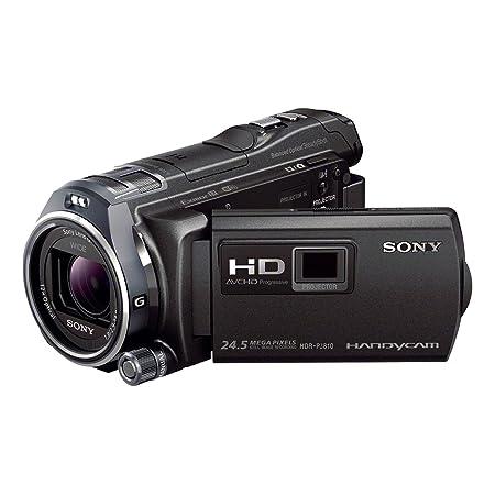 Sony HDR-PJ810E Camescopes Classique 1080 pixels Zoom Optique 12 x 6.14 Mpix 32 Go Wifi/NFC Noir
