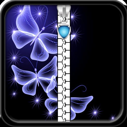 verrouiller-lecran-papillon-brillant