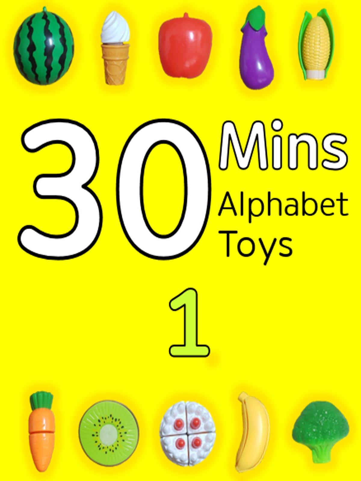 30 Minutes Alphabet Toys #1