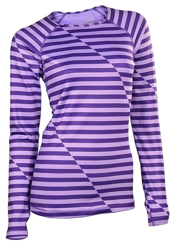 Nike Women's Dri-Fit Pro Hyperwarm Training Top-Purple