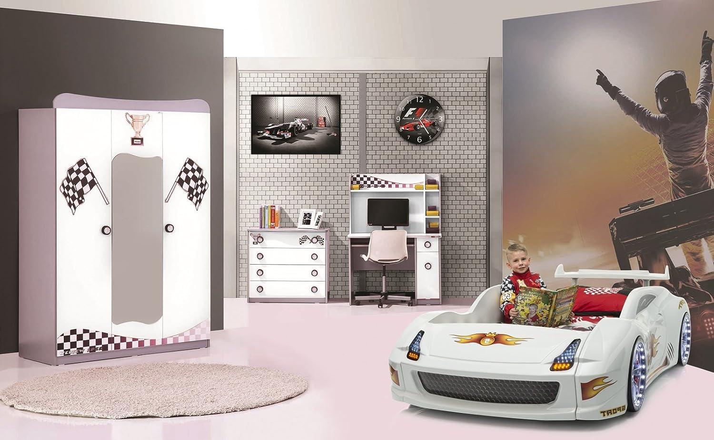 Autobettzimmer Set 4-teilig Fivex Weiß günstig online kaufen