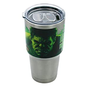 Marvel Big Mouth Tumbler Spill Proof /& Double Walled Tumbler Avengers Infinity War /& Hulk 30 oz Stainless Steel Portable Beverage Tumbler