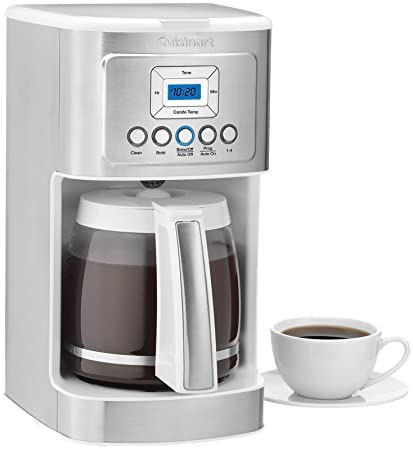 Amazon.com: Cuisinart DCC-3200 Perfect Temp 14-Cup Programmable Coffeemaker, Stainless Steel: Kitchen & Dining