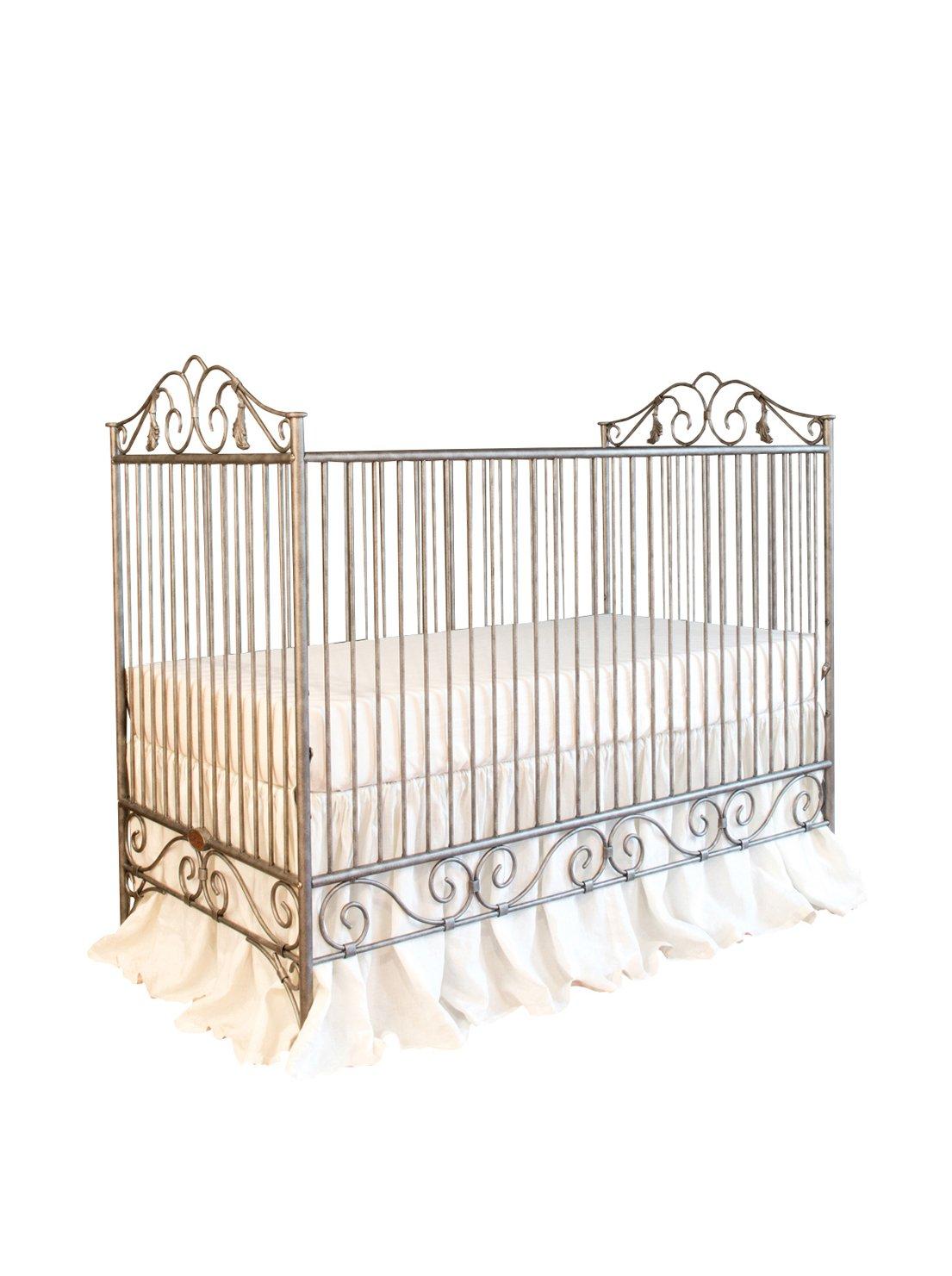 Bratt Decor Casablanca Crib Pewter