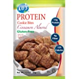 Kay's Naturals Protein Cookie Bites, Cinnamon Almond, Gluten-Free, Low Carbs, Low Fat, Diabetes Friendly All Natural Flavorings, 1.2 Ounce (Pack of 6) (Color: White &Lt Brown, Tamaño: 1.2 Ounce (Pack of 6))