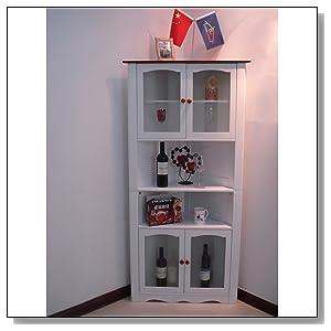 corner kitchen pantry cabinet. Black Bedroom Furniture Sets. Home Design Ideas