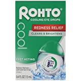 Rohto Cooling Eye Drops 0.4 Oz (2 Pack)