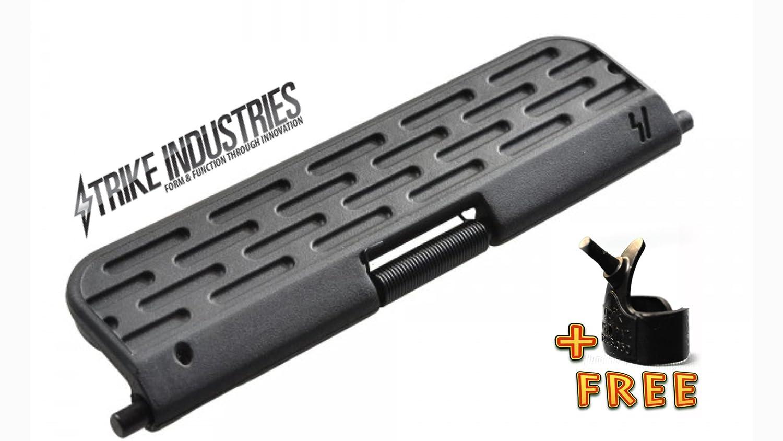 Strike Industies Ultimate  Enhanced  Dust Cover 308 version Black  CAPSULE  with Free Tool strike