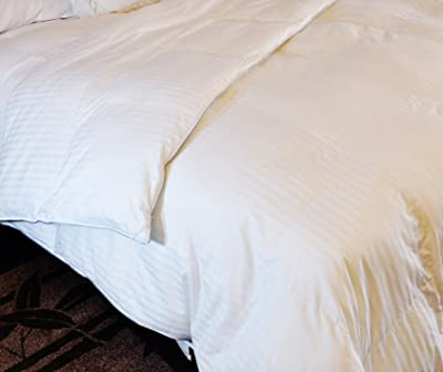 Natural Comfort Soft and Luxurious 310TC Sateen White Down Alternative