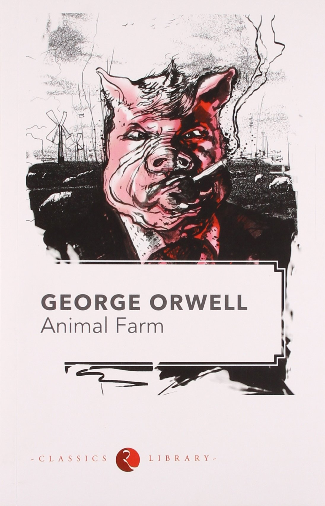 a book report on animal farm a novel by george orwell
