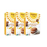Simple Mills Almond Flour Mix, Banana Muffin & Bread, 9 oz, 3 count