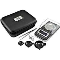 Smart Weigh GEM50 High Precision Digital Milligram Scale with Three Weighing Pans