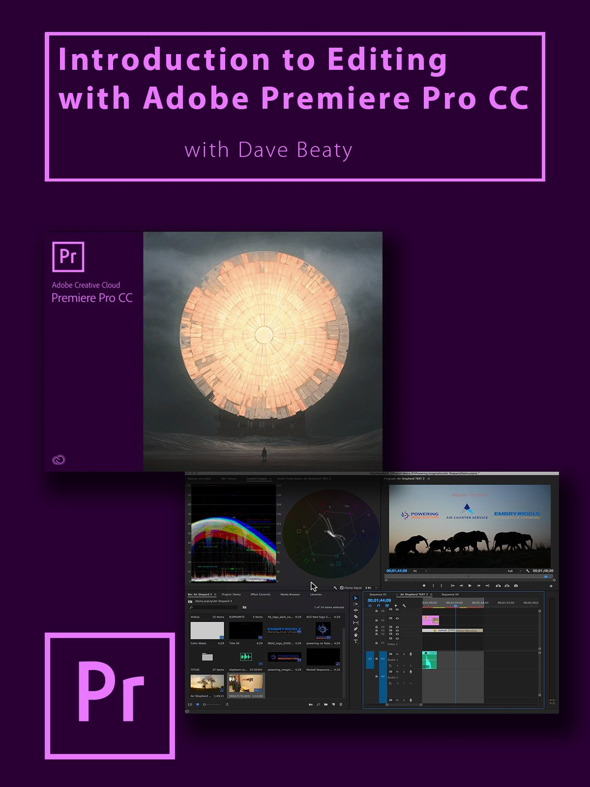 Introduction To Editing With Adobe Premiere Pro CC on Amazon Prime Video UK