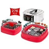 Avid Power 276 PCS Rotary Tool Accessories Kit, Universal Fitment for Easy Cutting, Grinding, Sanding, Sharpening, Carving and Polishing (Tamaño: 276-Piece Rotary Accessory Kit)