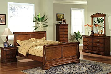 Venice Chest Dressers Furniture in Dark Oak Finish by Furniture of America # CM7650DK-C