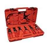 Abn Flexible Hose Cable Clamp Pliers Tool Set 7 Piece Kit (Tamaño: 19)