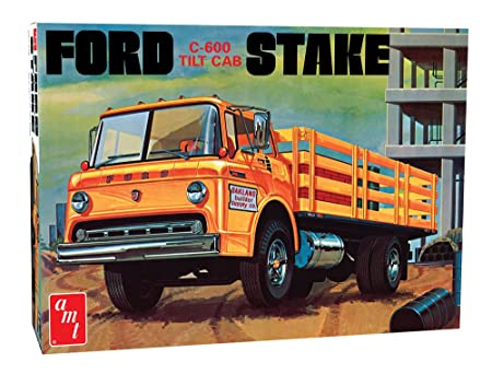 AMT - Ford C-600Stake Bed Truck - A-AMT650R
