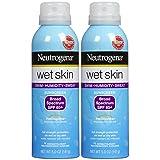 Neutrogena Wet Skin Sunscreen Spray Broad Spectrum SPF 85+, 5oz, 2pk
