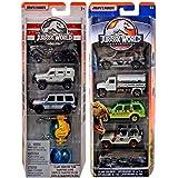 Cars Dinosaurs Jurassic World Legacy Collection Matchbox Die-Cast series island explorers / trucks / jeeps & transport team (Color: Black)