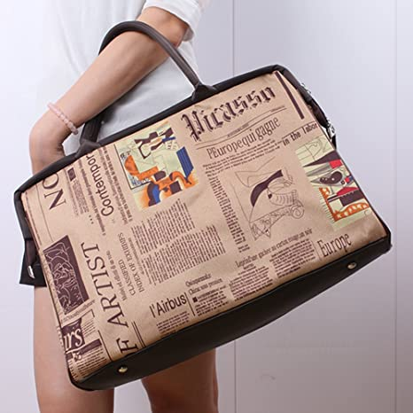 Fancasen New Retro Vintage Style Womens Handbag Tote Shoulder Bag 23