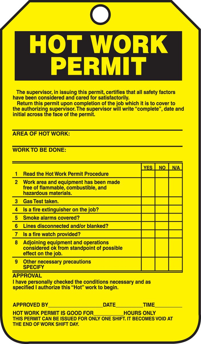 Safety zone hse question answers for Working at height permit to work template