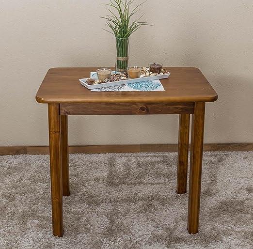 Tisch 80x50 cm, Farbe: Eiche
