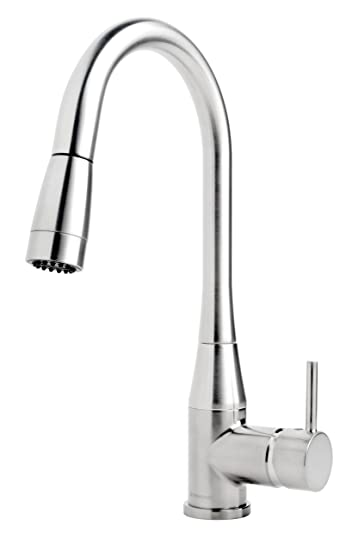 Symmons S-2302-PD Sereno Single Lever Pull Down Kitchen Faucet, Chrome Finish