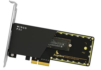 Angel Bird Wings PX1Performance SSD adaptateur [PCI-E x4-M.2| nvme/ahce compatible]-wpx1de fwkf