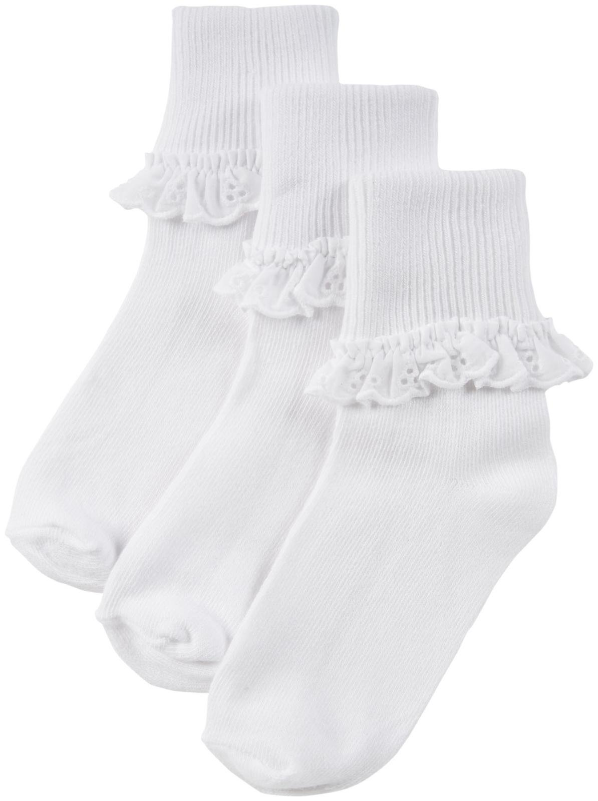 Kids' Eyelet Lace Sock