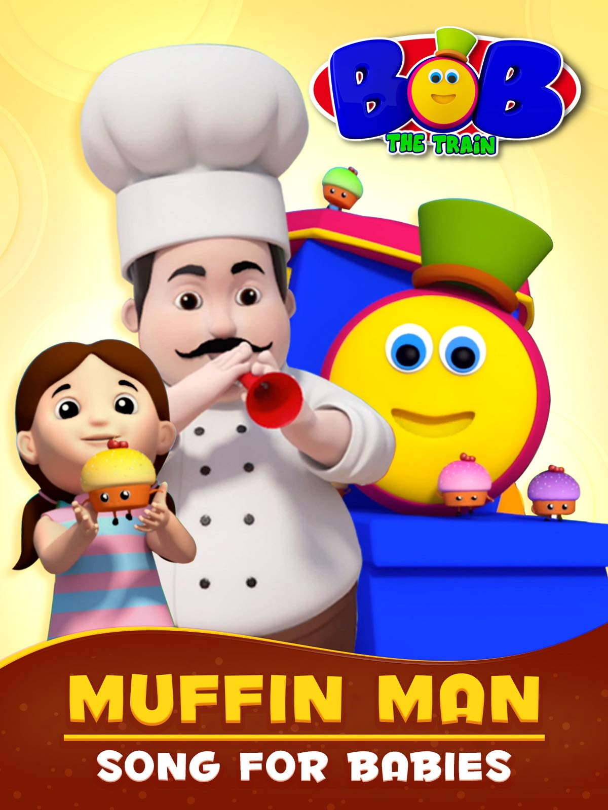 Muffin Man Song for Babies - Bob The Train on Amazon Prime Video UK