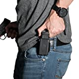 Alien Gear holsters Single Cloak Mag Carrier - 9 mm / .40 Caliber Double Stack (Color: black, Tamaño: 9 mm / .40 Caliber double stack)