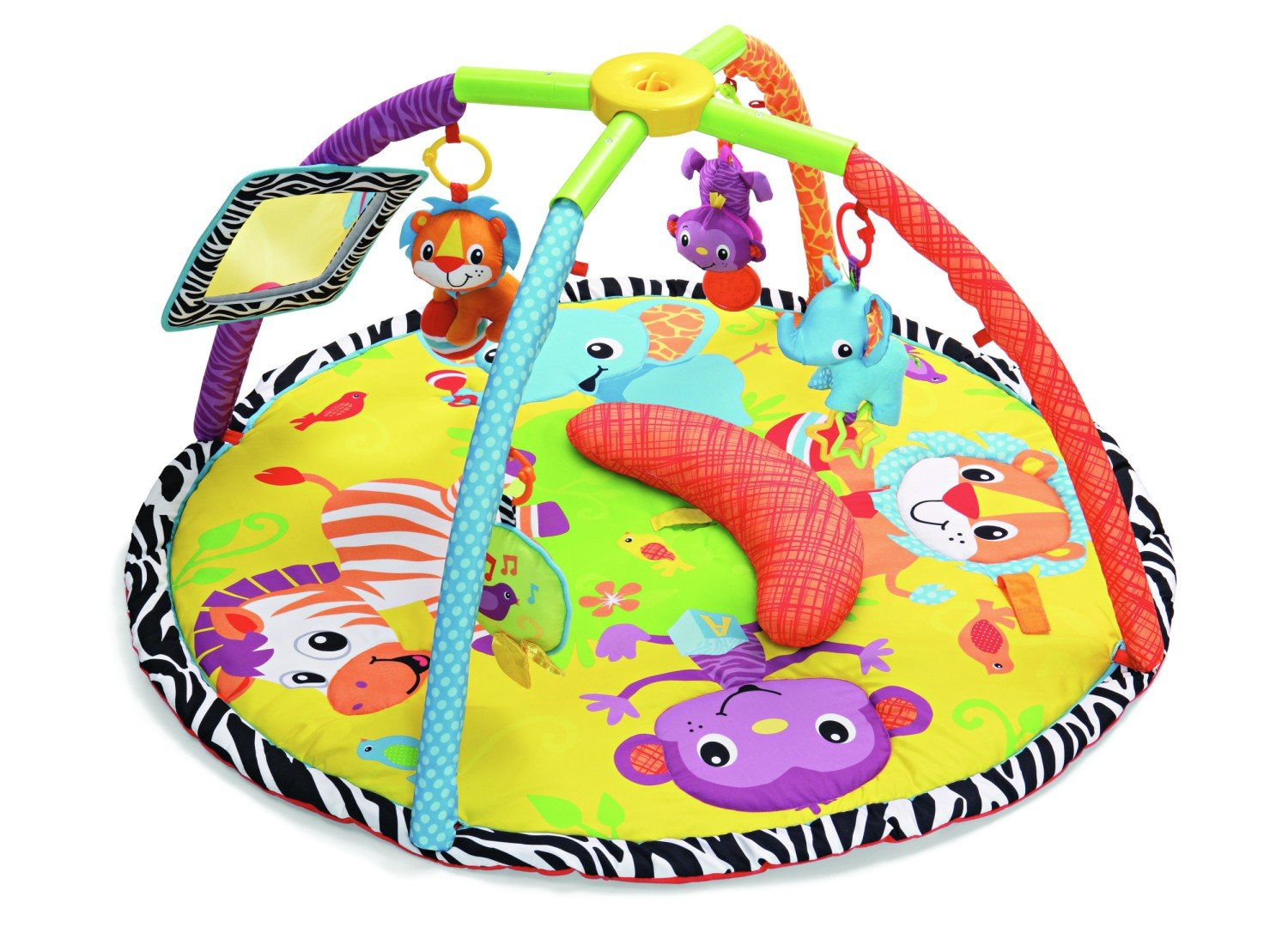 Infantino Twist and Fold Gym, Baby Animals (Discontinued by Manufacturer)