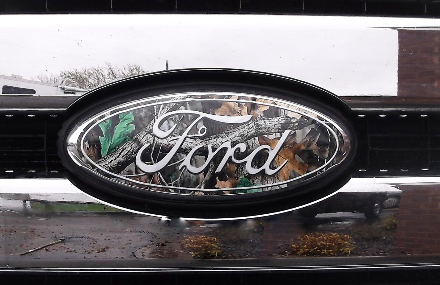 Ford Emblem Overlay Camo Html Autos Weblog