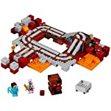 LEGO Minecraft The Nether Railway 21130 (Color: Multicoloured)