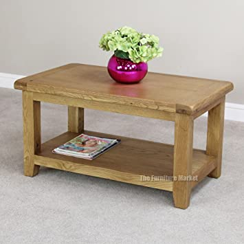 Sussex Oak Small Coffee Table