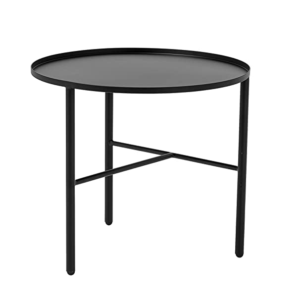 BLOOMINGVILLE - Table basse metal noir 3 pieds bloomingville pretty