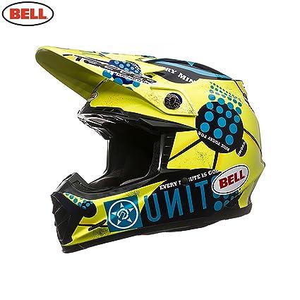 Bell Casques 7049911 MX 2015 Moto 9 Unit Existance Carbon Adult Casque, XL