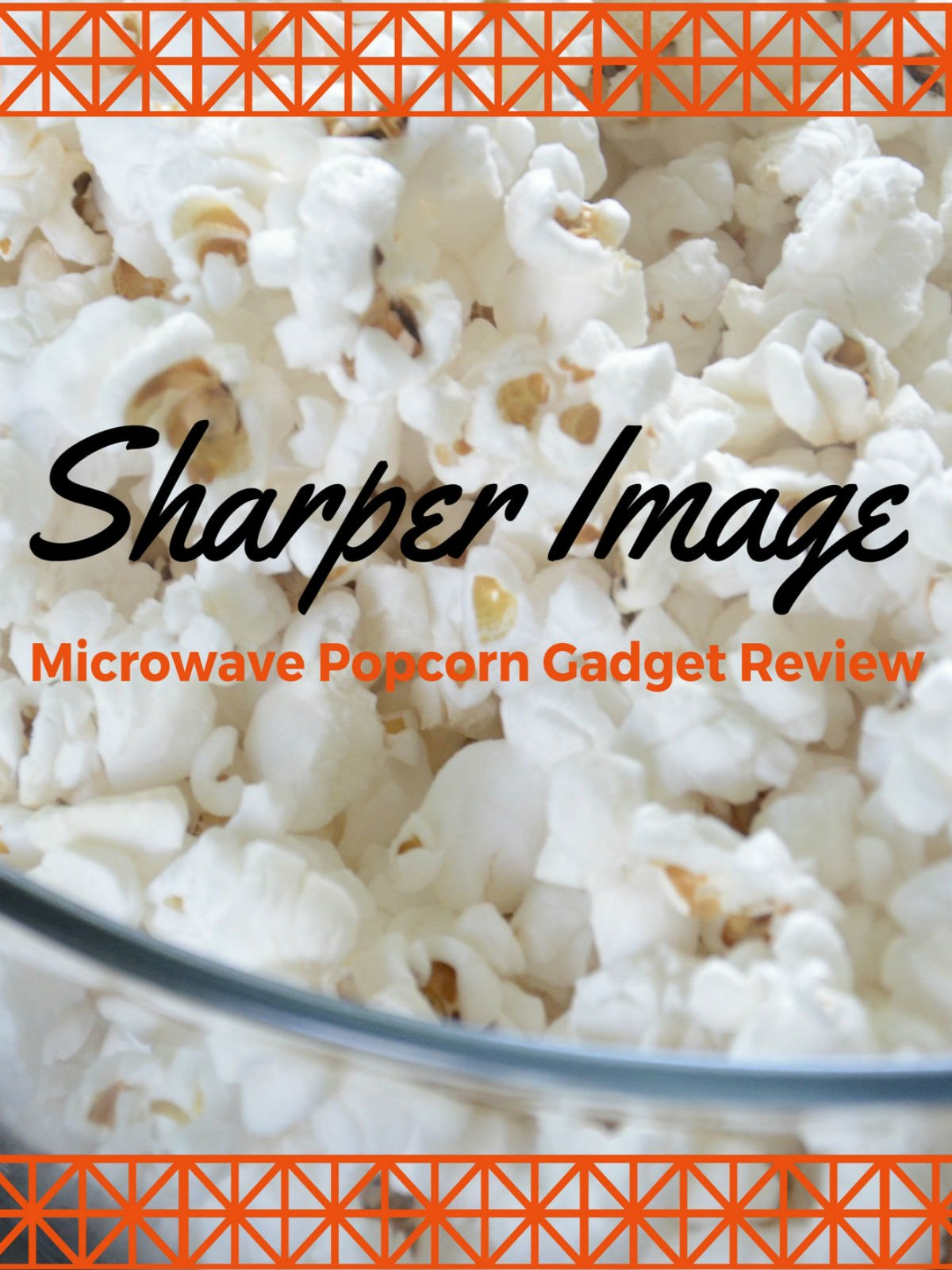 Review: Sharper Image Microwave Popcorn Gadget Review