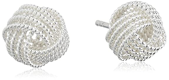 Sterling-Silver-Twisted-Love-Knot-Stud-Earrings